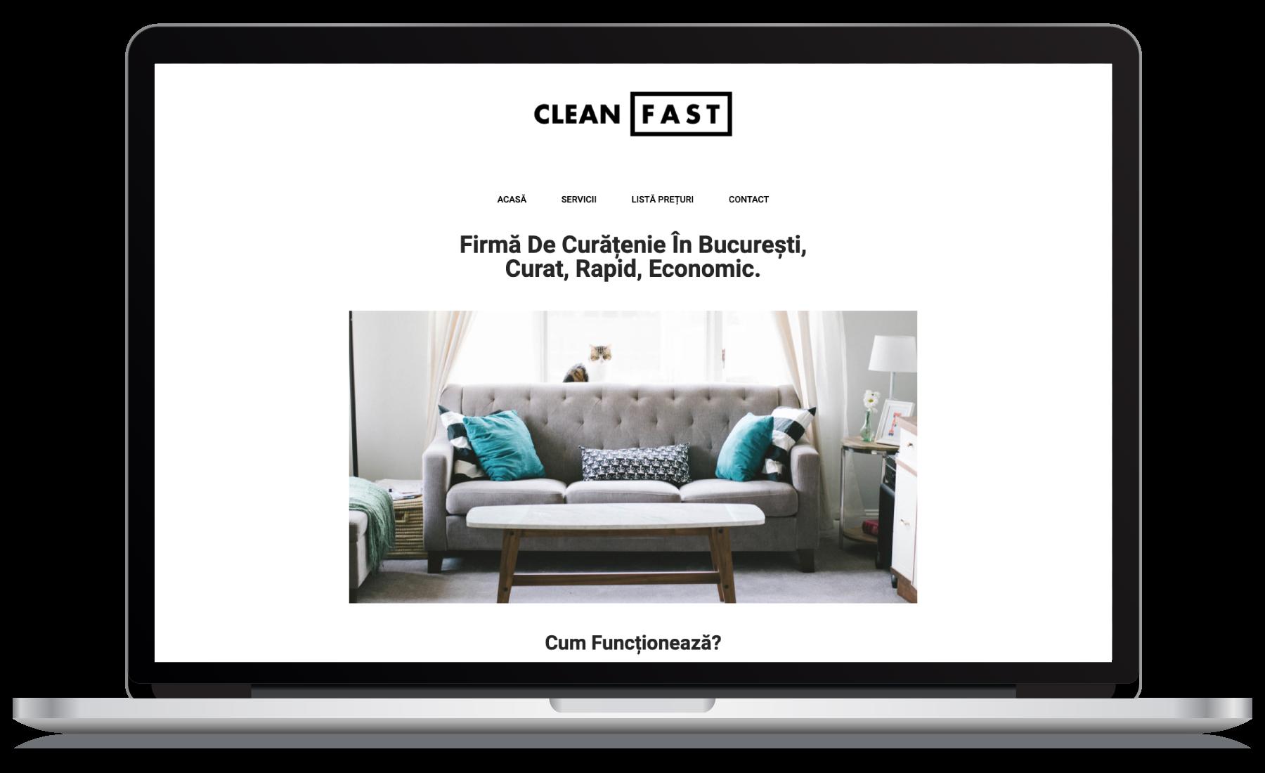 Creare Website Furnizor Sevicii